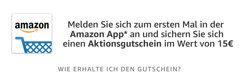 15 euro kortingscoupon [1e aanmelding app] @ amazon.de