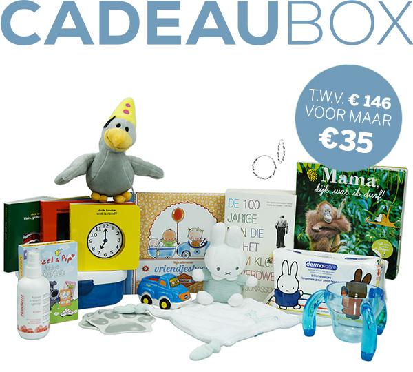 Nieuwe Wij Jonge Ouders cadeaubox t.w.v. €146