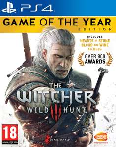 The Witcher 3 Wild Hunt - Game of the Year Edition (PS4) - base.com - PEGI