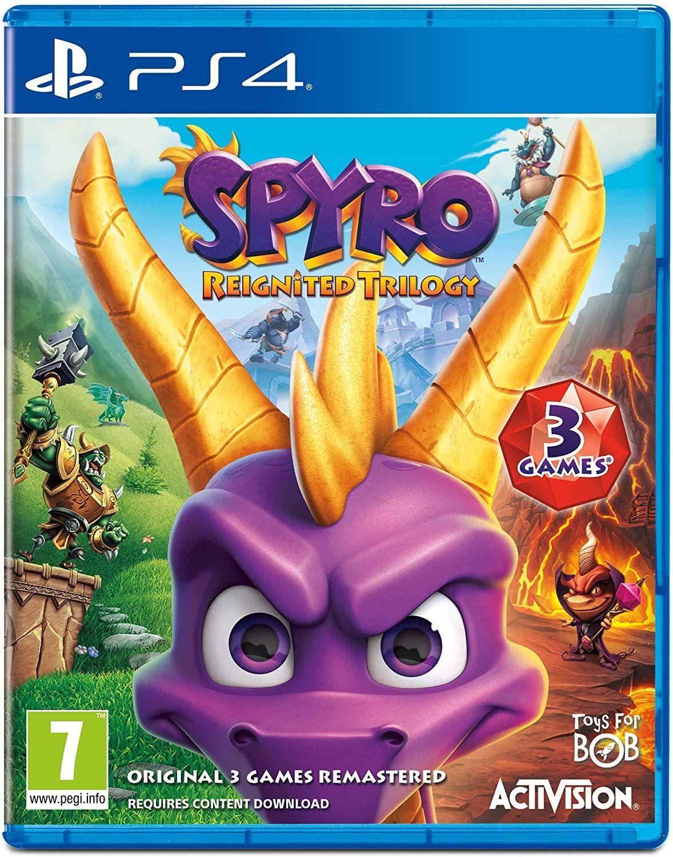Spyro Reignited Trilogy (PS4) - Engelse hoes met PEGI - base.com
