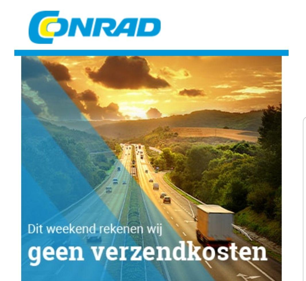 Conrad - gratis verzending