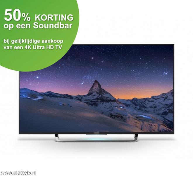 Sony Bravia KD-43X8305C voor €811 @ Platte TV