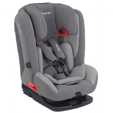 NUNA MYTI autostoel 9-36 kilo, 9 maanden tot 12 jaar. Kleur Frost, Caviar en Aspen