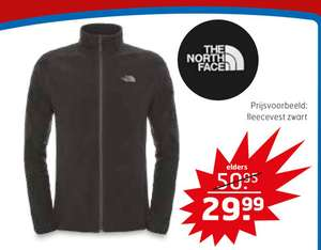 North Face fleecevest