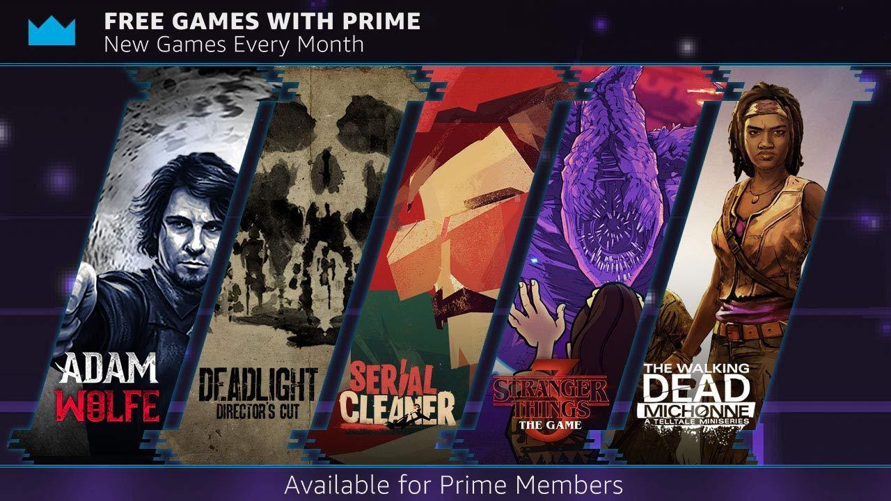 Twitch Prime: gratis spellen voor oktober