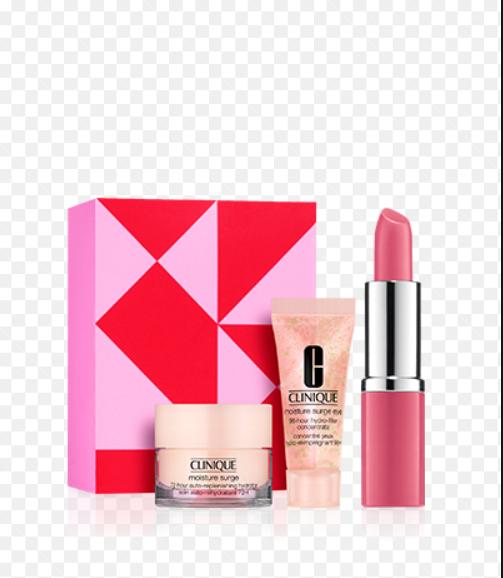 Clinique.nl Gratis miniatuur set + full size lipstick bij elke aankoop (goedkoopste = €5,-)