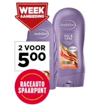 Andrélon Specials Shampoo of Conditioner 2 voor €5 @ Jumbo
