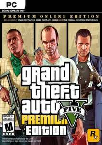 Grand Theft Auto V Premium Online Edition PC @ cdkeys.com