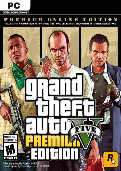 Grand Theft Auto V Premium Online Edition PC @ cdkeys.com