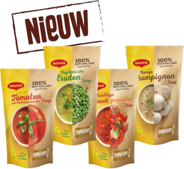 Probeer gratis Maggi soeppakket (op)
