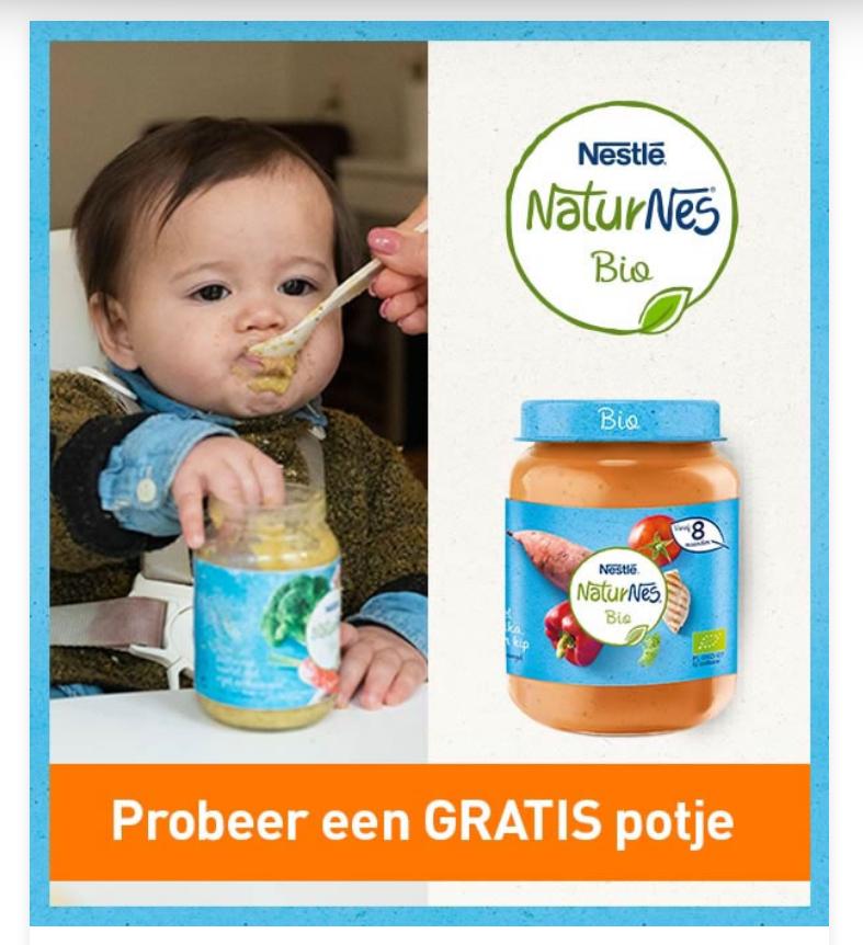 (Gratis geld) 2 geld-terugacties NaturNes Bio = €1,59 winst