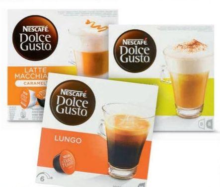 3 doosjes Nescafé Dolce Gusto voor €9,99 @PLUS
