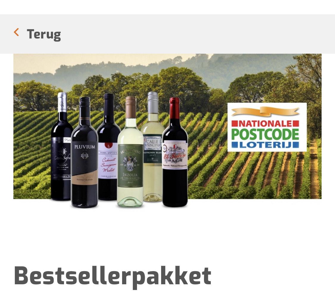50% korting op een wijnpakket bij wijnvoordeel.nl