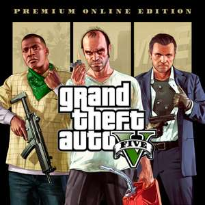 Grand Theft Auto V Premium Online Edition PS4 @ PSN