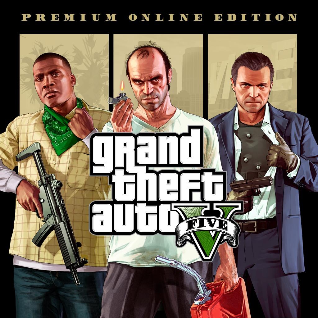 Grand Theft Auto V Premium Online Edition PS4 @ PSN