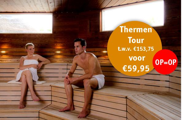 OP=OP Dagje sauna vanaf 12 euro