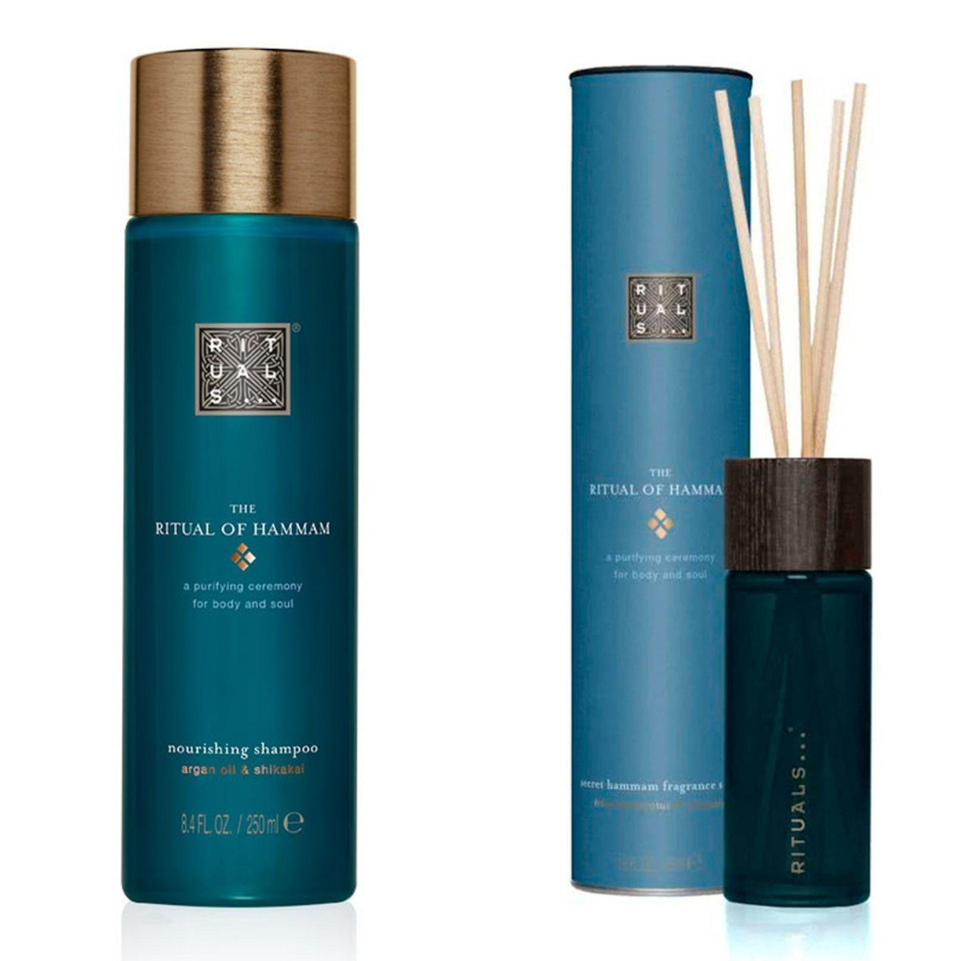 Rituals Hammam shampoo en geurstokjes met 30% korting @Douglas