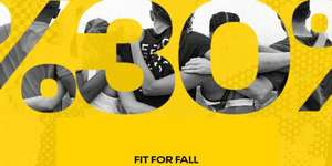 Fit for fall: 30% korting @ Reebok