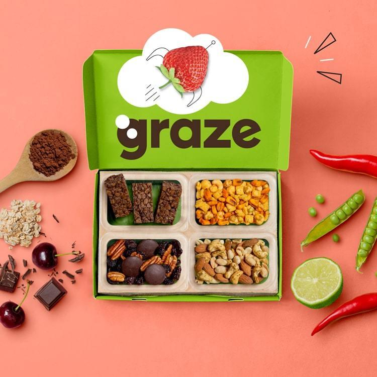 Graze snacks 50% korting