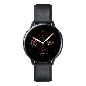 Galaxy Watch Active 2 Roestvrijstaal Zwart voor 249 euro i.p.v. 419