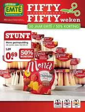 Fifty-Fifty Weken - o.a. Mona, donuts, twister fries, Mora @ Emté