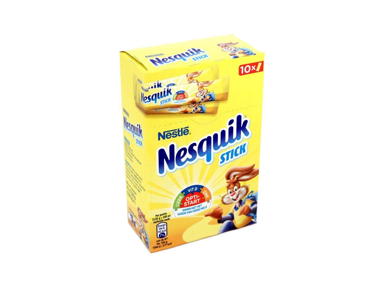 Nesquik sticks voor €0.75 bij Kruidvat