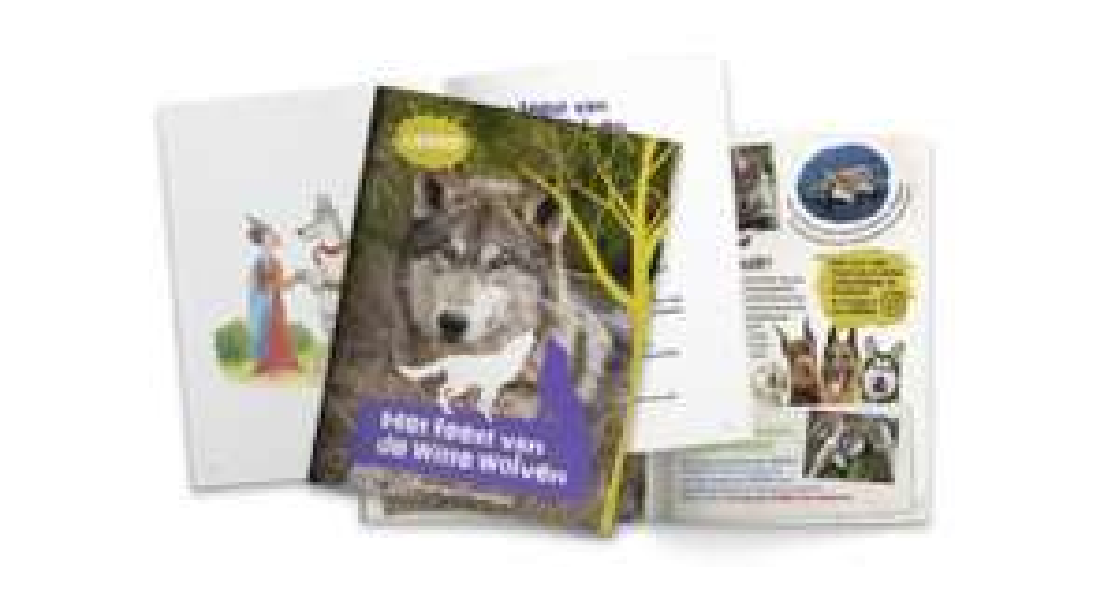 Gratis Wolvenboekje van OERRR + weetjes over de wolf @ Natuurmonumenten