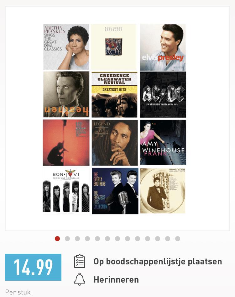 Aldi goedkope LP's