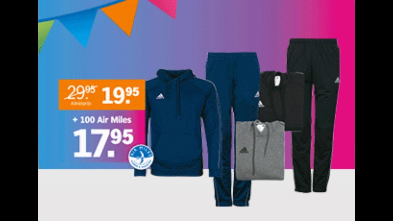 Adidas hoodie of trainingsbroek @ Albert Heijn
