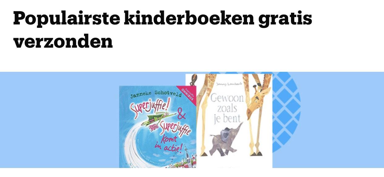 Gratis verzending diverse kinderboeken vanaf €5 tijdens de Kinderboekenweek @ bol.com