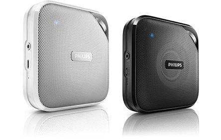 Philips BT2500 Bluetooth Speaker (zwart of wit) voor €15,- @ Media Markt