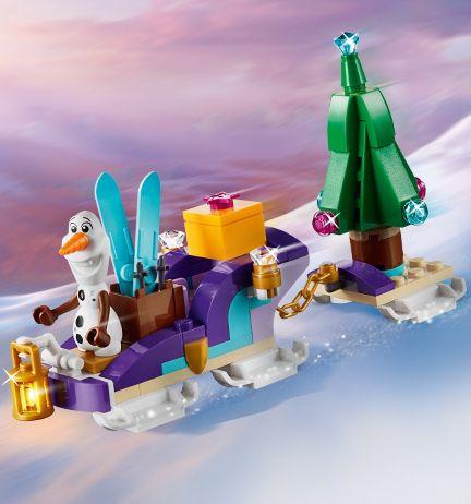 Gratis Olafs reisslee bij LEGO