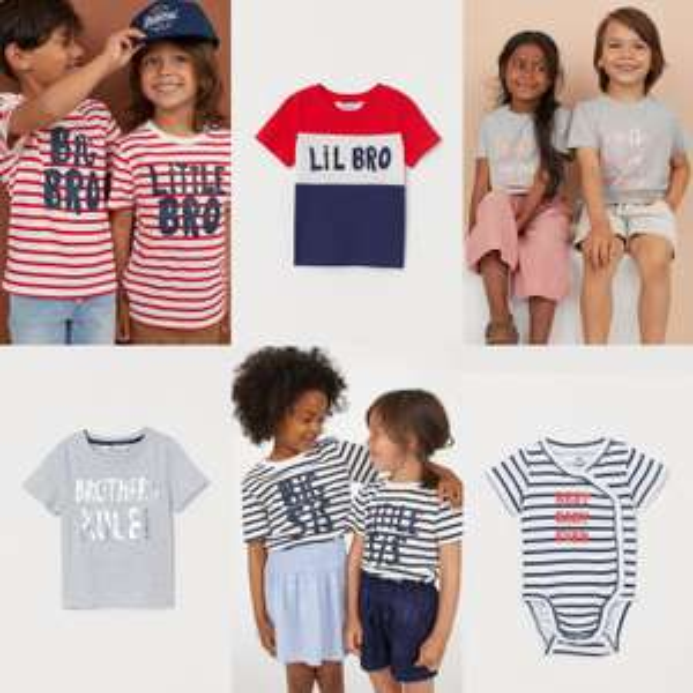 Diverse 'Twinning' kleding tot 60% korting - va €1,99 @ H&M