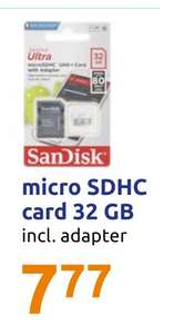 Micro SDHC card 32 GB @ Action