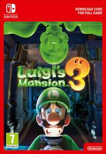 Luigi's mansion 3 pre-order switch digitaal @ cdkeys & shopto