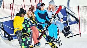 50% korting entree ticket Snowworld