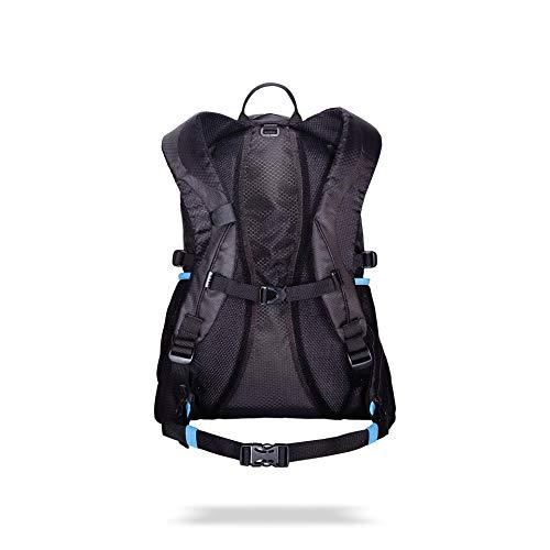 BBB Cycling Trailpacker 20l fietsrugzak voor 3l HydrationSystems BSB-121, zwart, M