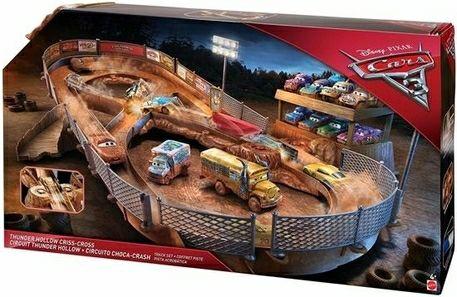 Disney Cars 3 Thunder Hollow Crash-Arena van €65,00 voor €24,95 (Gratis Verzending) @ dagknaller.nl