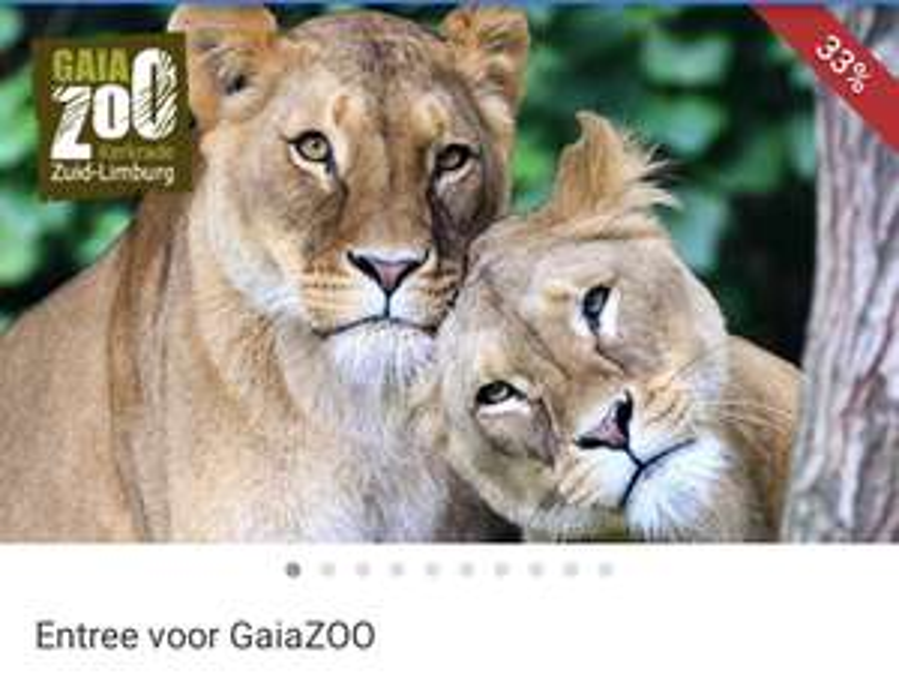 Entree Gaia Zoo