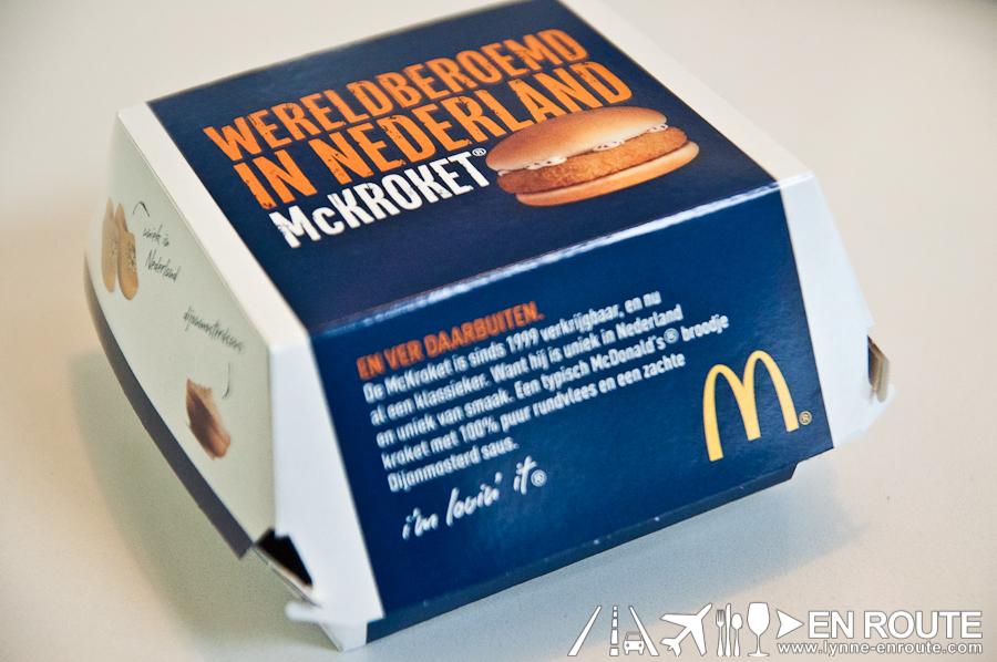 McKroket voor €2,25 bij McDonald's