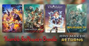 Humble Bundle RPG Maker voor €0,91 @ Humble Bundle