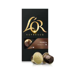 25% korting op alle L'or nespresso capsules
