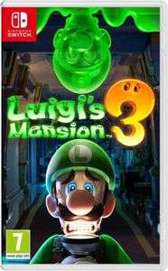 Luigi's mansion 3 pre-order PHYSICAL