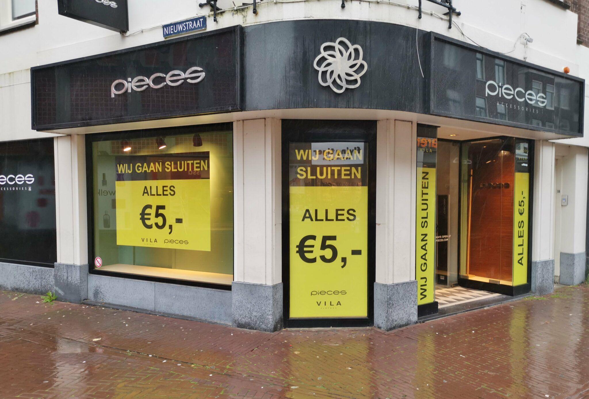 [Lokaal] Pieces in Gouda (Kleiweg) gaat sluiten: ALLES voor €5,-
