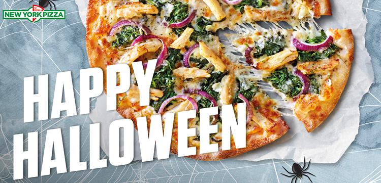 [Assen] Halloween: een pizza (25cm) voor € 1,99