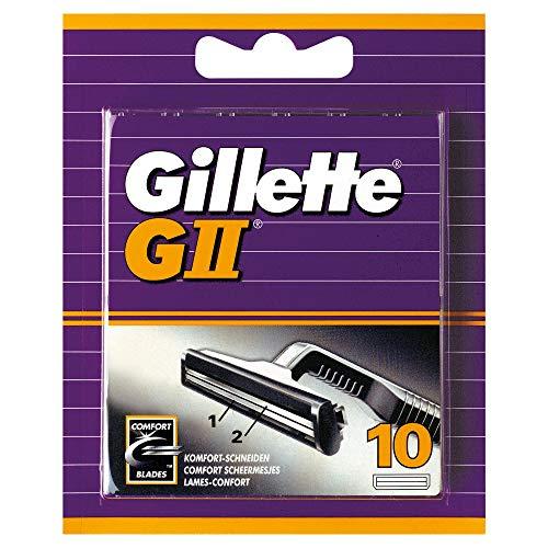 Gillette GII scheermesjes 10 stuks @Amazon.de