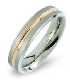 Boccia Titanium ringen 70% korting, v/a €13,49