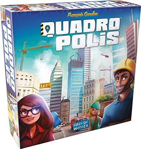 Bordspel Quadropolis (Engels) @Amazon.de