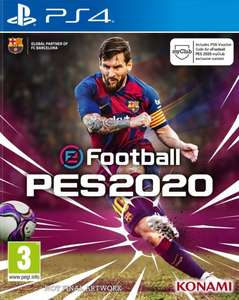 eFootball PES 2020 PS4 disc voor €36,50 @ YGZ