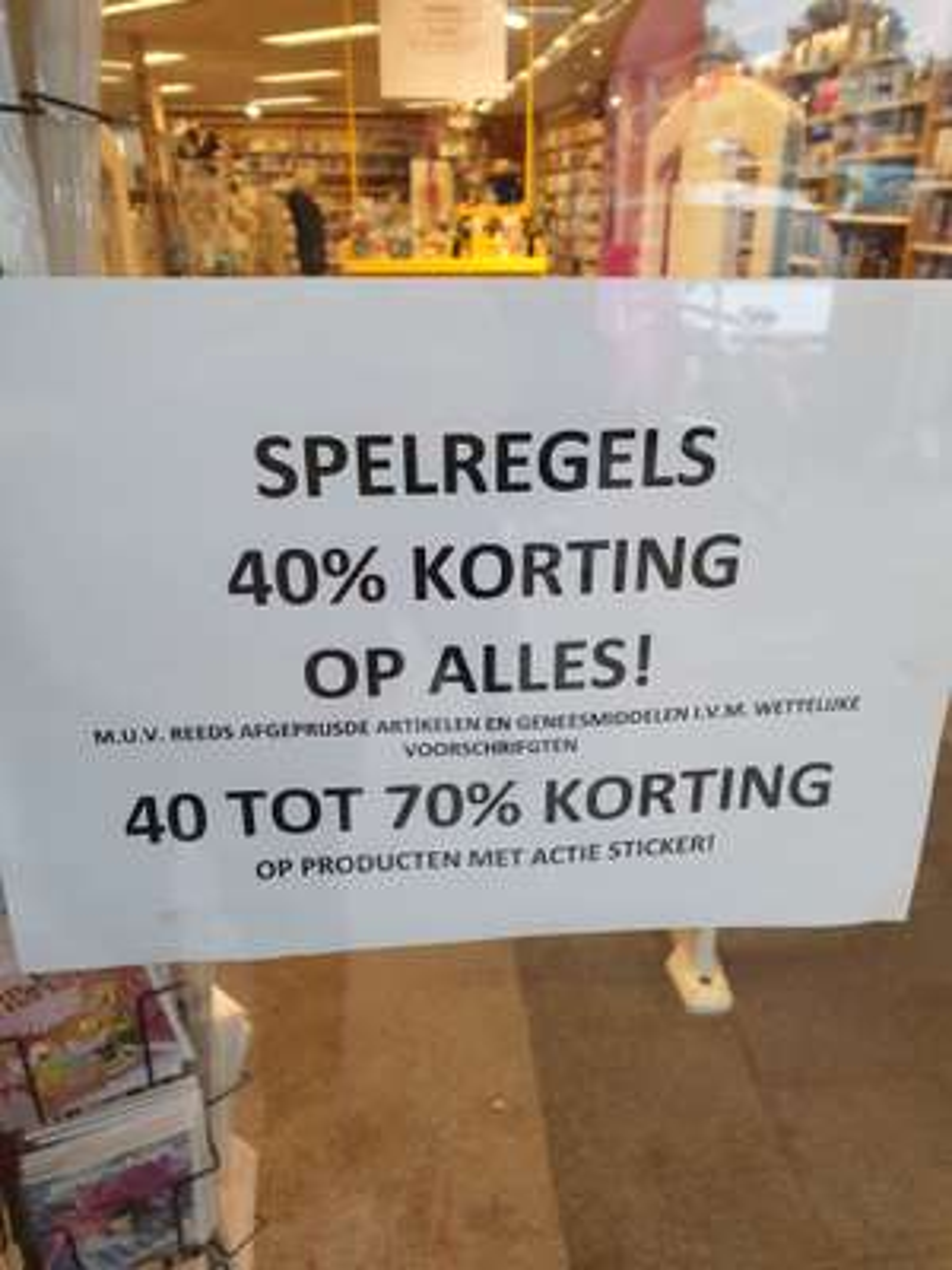 Opheffingskorting tot 70% @DA Leeuwarden
